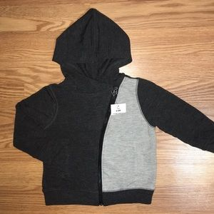 fc1da35fab3f Afton Street charcoal and gray jacket size 6-9m